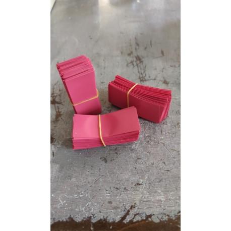 18650 HEAT SHRINK in PVC Flat Wrap 100PCS