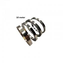 Nickel Plated steel roll 0.1mmx 7mmx10m