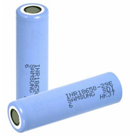 1x tested 18650 SAMSUNG 29E 2600-2799 mah no holder