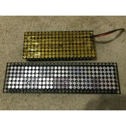1x tested 18650 inside 2400-2599 mah no holder