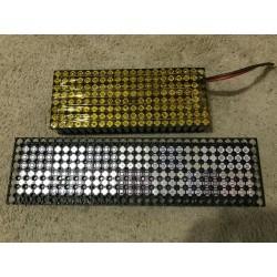 1x tested 18650 between 2200-2399 mah no holder